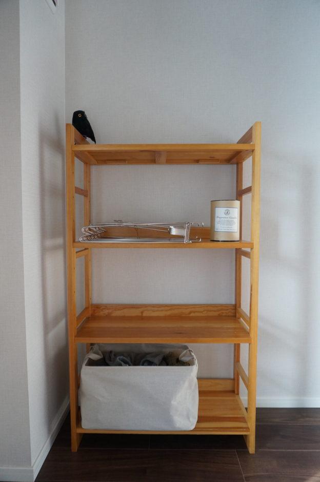 「無印良品の本棚」奥行が選べる木製収納