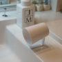 水切れ抜群!100均で理想の洗面所コップに出会う|水垢問題にさようなら。