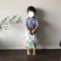 幼稚園のプールバッグ選び|超シンプルな100均のクリアバッグを代用してみる。
